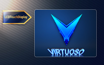 Virtuoso standard control libraries LCD touch display